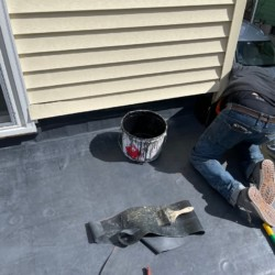 EPDM Rubber Roof In Watertown MASS